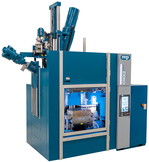 multistation rotary press REP rubber injection