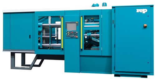 horizontal rubber injection press 300t