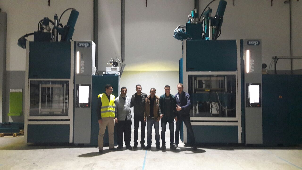 First presses installed by SMARTINDUS together with REP at Morrocan customer SONOFET