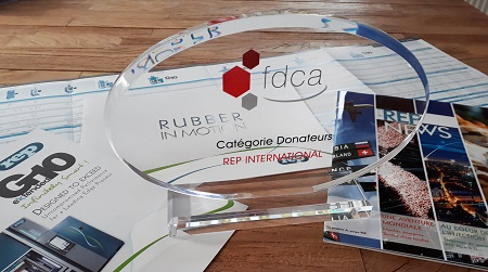 Trophy of the French Rubber Foundation (FDCA)