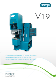 V19 C-FRAME molding machine columnless