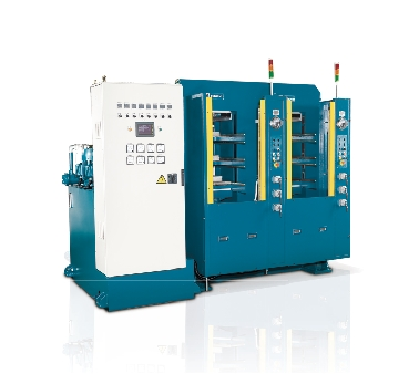 hot/cold molding machine for carbon composites
