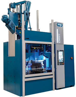 multistation rubber injection molding machine