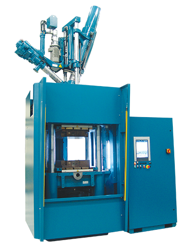 G9A rubber injection press make in India