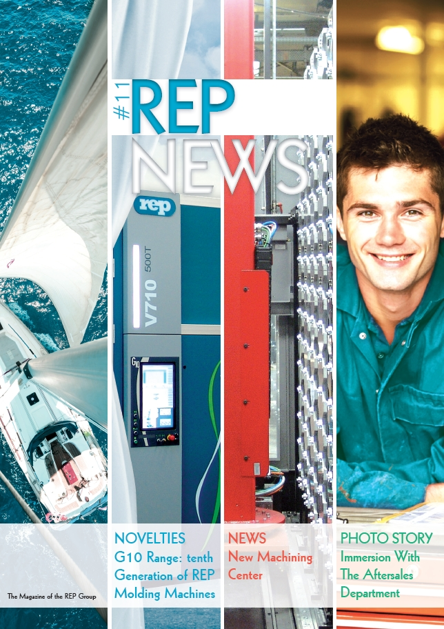 rubber injection machinery news - magazine of the REP GROUP